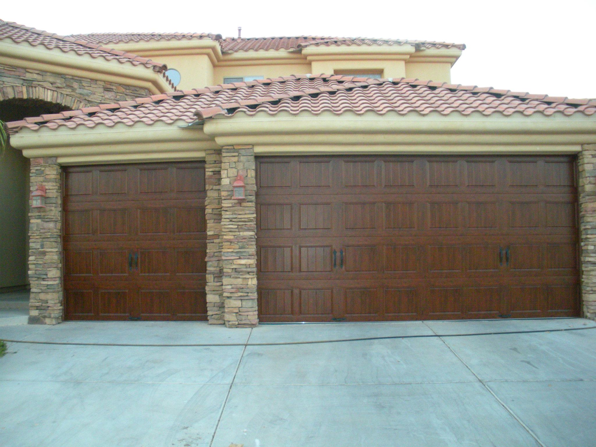 1536 #5F4838 Garage Door Installation JDT Garage Door Service pic Installed Garage Doors 37212048